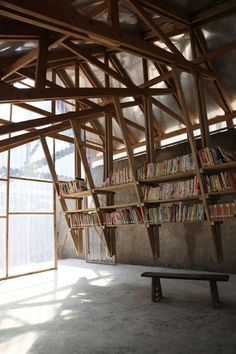 THE PINCH Library and community centre. Yunnan Province, China.