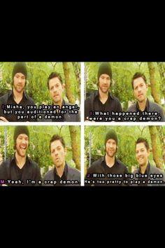 Live Misha and Jared