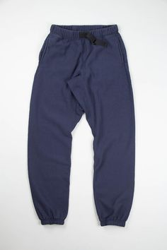 Blue Fleece Sweat Pant   Engineered Garments