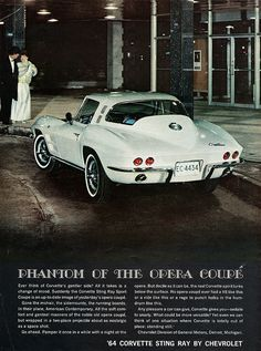 klappersacks:  1964 Chevrolet Corvette Sting Ray Sport Coupe by aldenjewell on Flickr.