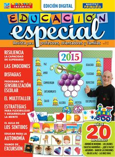The magazine Educación E … is now available in digital format. Motor Activities, Activities For Kids, Special Educational Needs, Down Syndrome, Child Development, Social Studies, Psychology, Preschool, Classroom
