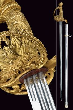 A presentation sword, France 19th Century .
