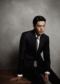 Photo of Kim Woo Bin For SIEG's F/W 2014 Ads for fans of Kim Woo-Bin.