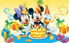 Disney Edible Photo Cake Topper 1 x PRINT with Mickey Mouse, Minnie Mouse and Donald Duck! Mickey Mouse E Amigos, Mickey E Minnie Mouse, Mickey Mouse Parties, Mickey Mouse And Friends, Baby Mickey, Retro Disney, Art Disney, Disney Images, Disney Pictures