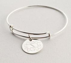Hey, I found this really awesome Etsy listing at https://www.etsy.com/listing/207546706/sterling-silver-adjustable-charm-bangle