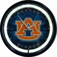 Best Auburn Tigers Plasma Clock Big SALE - http://buynowbestdeal.com/12921/best-auburn-tigers-plasma-clock-big-sale/?utm_source=PN&utm_medium=pinterest&utm_campaign=SNAP%2Bfrom%2BCollege+Memorabilia%2C+NCAA+Sports+Memorabilia - Authentic Street Signs, College Apparel, College Gear, College Shop, NCAA Fan Shop, Ncaa Sports Souvenirs, Photomints, Sports Souvenirs