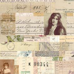 Journal Pages, Junk Journal, Date, Printable Art, Printables, Beautiful Collage, Ink Pads, Vintage Ephemera, Scrapbook Supplies