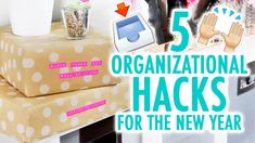 5 DIY Hacks to Stay Organized in 2016! - HGTV Handmade