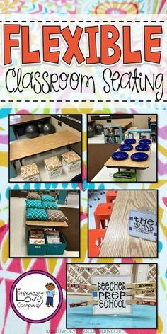 Are you thinking about flexible seating for your classroom? Alternative seating can improve student focus, increase student participation, and motivate your learners. Here are some great seating choices, organization tips, and classroom management ideas Classroom Layout, Classroom Organisation, Classroom Design, Kindergarten Classroom, School Classroom, Classroom Management, Classroom Ideas, School Room Organization, Disney Classroom