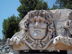 Apollon Temple The head of Medusa - Didim, Aydın, Turkiye