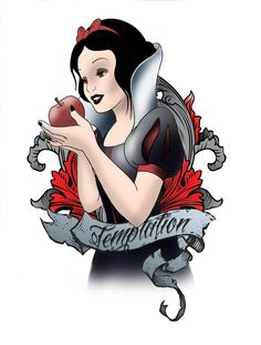 Love it. Snow White tattoo