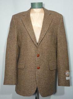 Vintage 1970s Coat Tails Milnburn Tweed Sport Coat from myvintageclothesline on Ruby Lane