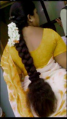 Beautiful Braids, Beautiful Long Hair, Beautiful Gorgeous, Cut My Hair, Love Hair, Long Bob Hairstyles, Girl Hairstyles, Beautiful Arab Women, Indian Long Hair Braid