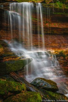 Nature Photography Waterfall in Wisconsin by SoulCenteredPhotoart, $22.00