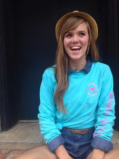 SOUTHERN GIRL PREP long sleeve t-shirt