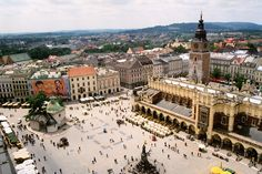 Krakow. I hear so many wonderful things about this city its hard not to want to visit. So one day I will!