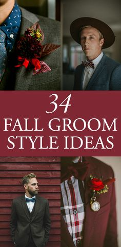 The top fall groom style