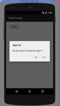 How to Show Alert Dialog in Android. alert dialog box with ok button in android. Different Programming Languages, Android Tutorials, Android Codes, Android Studio, Mobile Computing, Learn Programming, Open Source, Computer Science, Make It Simple