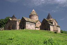 Goshavank Monastery, located in the village of Gosh (near Dilijan) in the Tavush Province, northern ARMENIA, is a 12-13th century monastery. It is no longer a functioning religious complex, but certainly an amazing place to visit.