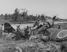 Wrecked Japanese Plane by Guampedia.com, via Flickr