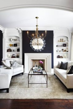 Fantastic light in this space... choosing to use white in the room makes it even brighter and inviting!