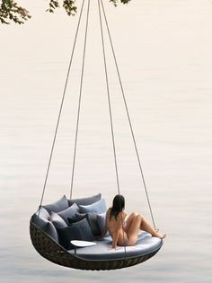 Swing Chair, this will be me in my backyard off a lake someday with my hubs, pups, & babies