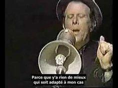 ▶ Tom Waits - Chocolate Jesus - sous-titres français - YouTube