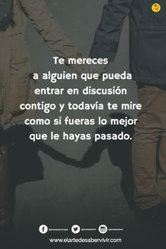 Te lo mereces, no lo olvides. Tumblers, Quotes, Strong, Fictional Characters, Casual, Happy, Someone Like You, Te Amo, Thoughts