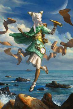 Tamiyo, the Moon Sage art by Eric Deschamps Fantasy Inspiration, Character Inspiration, Character Art, Character Portraits, Character Ideas, Character Concept, Daily Inspiration, Character Design, Dark Souls