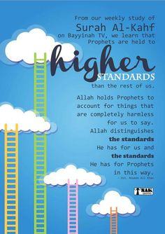 Surah Al Kahf, Nouman Ali Khan, High Standards, Hold On, Sayings, Learning, Lyrics, Naruto Sad, Studying