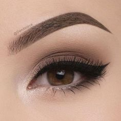 50 angesagtesten braunen Augen Make-up-Idee, die Sie für Abschlussball oder Par… 50 hottest brown eye makeup idea that you need to try for prom or party – 55 most sexy and asimple eye make-up tiThe ideal make-up for bl Makeup Goals, Makeup Inspo, Makeup Inspiration, Makeup Ideas, Makeup Style, Makeup Hacks, Makeup Geek, Makeup Guide, Makeup Designs