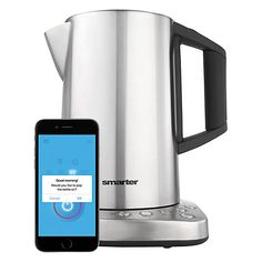 Buy iKettle Wi-Fi Kettle, Silver Online at johnlewis.com A kettle you can control from the lounge!  I'm in!!