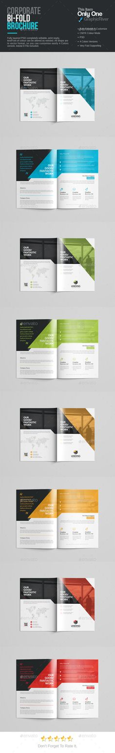 Corporate Business Brochure Business brochure, Corporate - corporate profile template