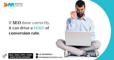 If #SEO done correctly, it can drive a 14.6% of conversion rate. #seoservices #conversionrateoptimisation #leadgeneration #onpageseo #seostrategy #ctr #google #increasewebsitetraffic #seocompany #seoranking #DigitalMarkitors Best Seo Services, Seo Ranking, Best Seo Company, On Page Seo, Seo Agency, Seo Strategy, Lead Generation, Web Development, Conversation