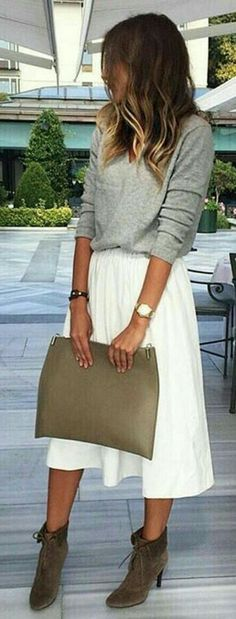 21 gray bag styling options and outfit ideas #greybag #outfitidea