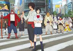 bakemono no ko (The Boy and the Beast)~~really, really good movie by the person behind The Girl who Leapt Through Time