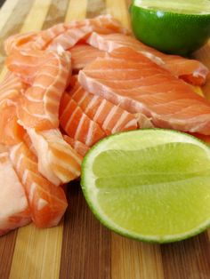 salmon!!! my favorite fish: raw, grilled, smoked...