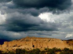 Stormy skies in Santa Fe, NM