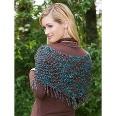 """Mary Maxim - Free Crystaline Scarf Pattern - Felicity Santa Fe $2.99  Size 12 x 60"""" Knitting Needle Size 30"""" (80 cm) Circular Ndl. Size 11 (8 mm) Yarn Range Number Universal Yarn Felicity No. Y084 Yarn Weight 5 Bulky Number of Balls Req. 2 (see pattern for further details"""