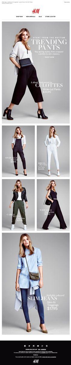 H&M Newsletter 2015 - New Spring Styles