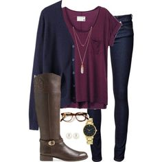 48dd48999cf cardigans by tex-prep on Polyvore featuring rag Navy Blue Leggings Outfit