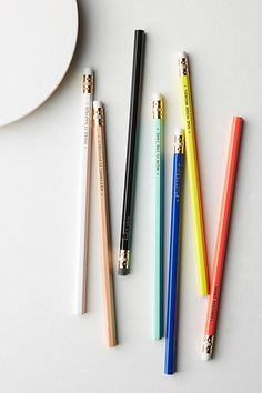 1: One Week of Mottos Pencil Set /#school