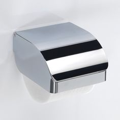 Tissue Boxes Modern Stainless Steel Paper Holder Hotel Public Place Paper Tissue Box Toilet Paper Holder Mirror Light Reliable Performance Home & Garden