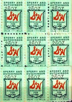 Do you remember Green Stamps 1930's - '80's.  I saved many books of these stamps and traded them in for nice things for the home.