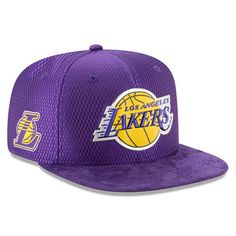 Men s Los Angeles Lakers New Era Purple 2017 NBA Draft Official On Court  Collection 9FIFTY Snapback Hat 7953356fac66