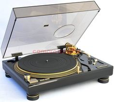 Technics SL-1200 LTD Gold