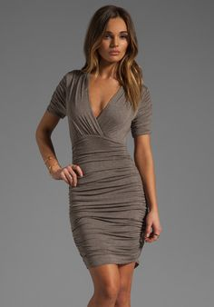 BAILEY 44 - Mummy Dress in Clay at Revolve Clothing
