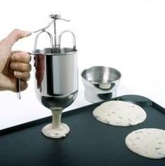 This is one of my favorites on totsy.com: Pancake Dispenser w/ Holder