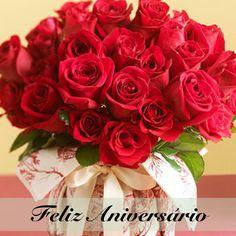 feliz aniversÁrio rosas vermelhas facebook pinterest facebook