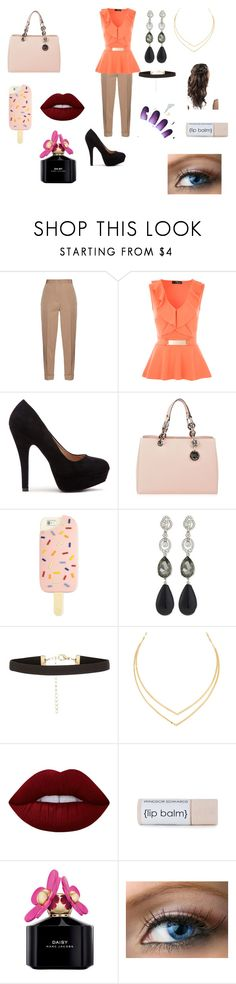 """Last day working at school"" by keilydelgado on Polyvore featuring Bottega Veneta, MICHAEL Michael Kors, Tory Burch, Oscar de la Renta, Lana, Lime Crime and Marc Jacobs"